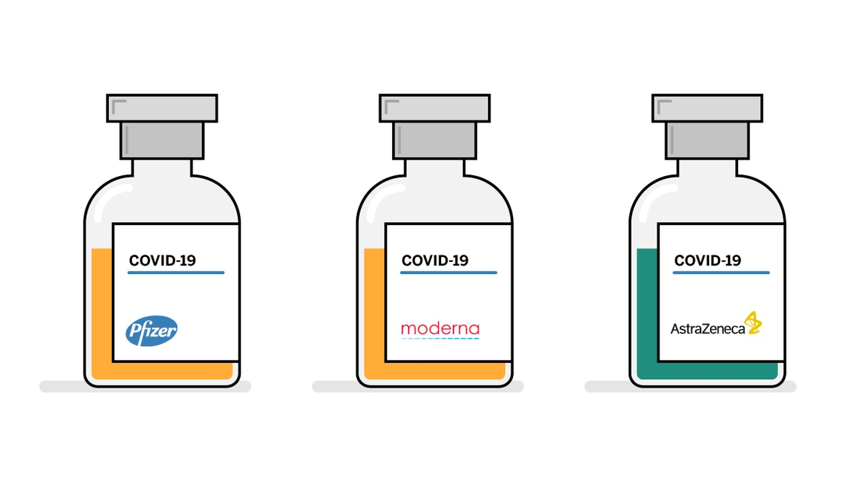 Oxford fizer moderna vaccine
